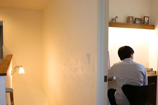滝沢市葉の木沢山│コーギーと暮らすあったかお家カフェの書斎