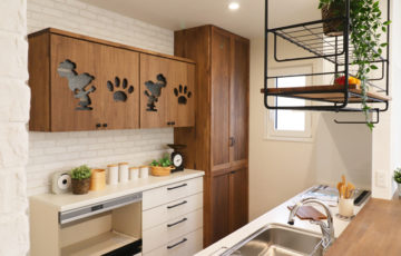 盛岡市東緑が丘│スヌーピーのいるお家のキッチン