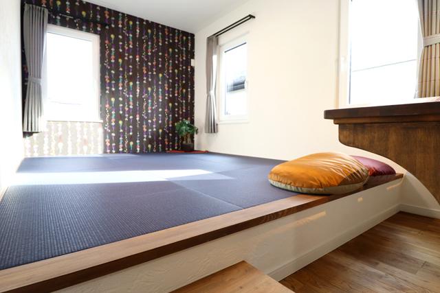 盛岡市東緑が丘│スヌーピーのいるお家の寝室