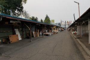 神子田の朝市(1)
