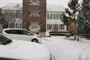 岩手の雪景色