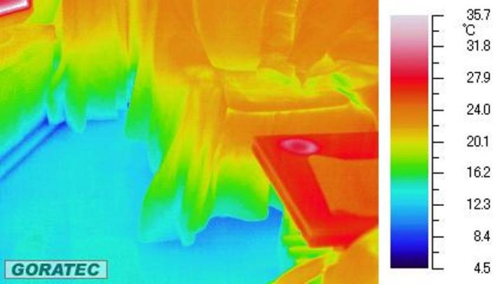 岩手の家の室内温度差