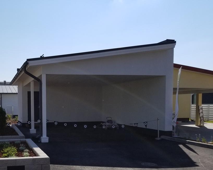 北欧の家のガレージスタイル (7)