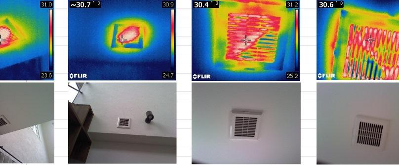 全館空調暖房チェック