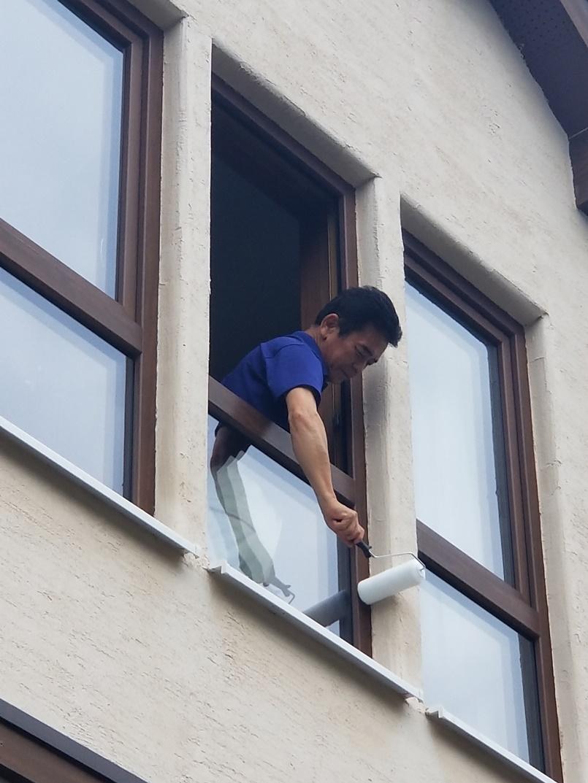外壁洗浄方法2