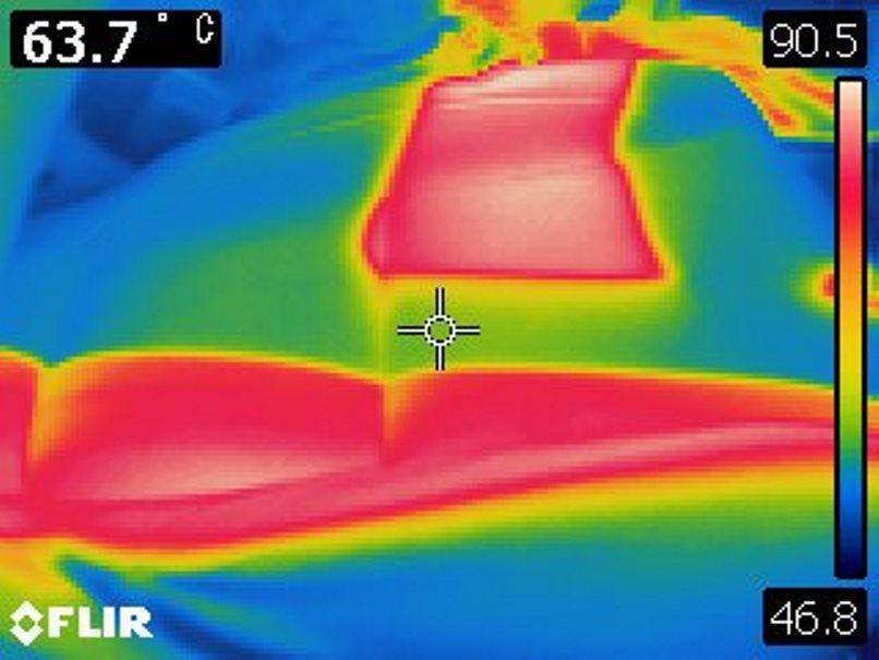 岩手猛暑日車中温度5