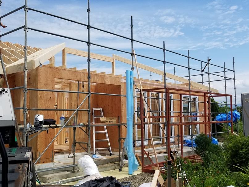 家の建て替え:岩手県滝沢市1