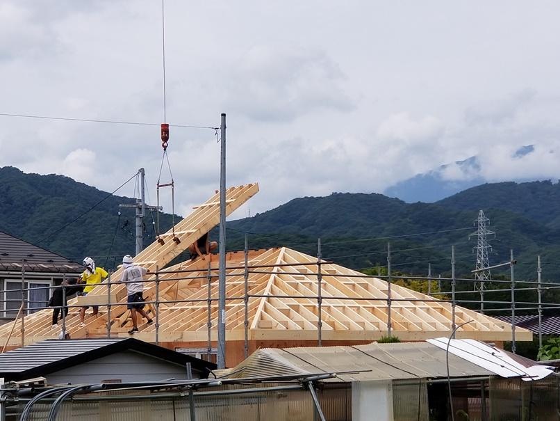 家の建て替え;岩手県滝沢市3