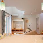 盛岡市浅岸│ホワイトフレンチの家のキッチン